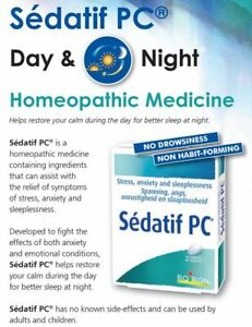 Details about Boiron® Sedatif PC Homeopathy Natural Relieve of Sleep  Disorders, Anxiety&Stress