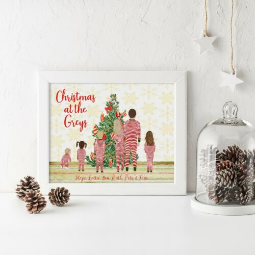 Christmas Family PrintChristmas Family SignChristmas Believe Sign