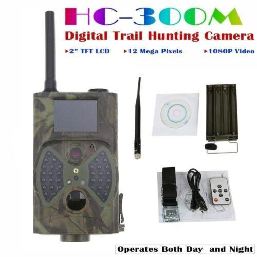 HC-300M 12MP MMS 1080P Wildlife Camera IR Night Video Hunting Trail Camera  65FT