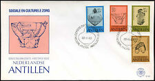 Netherlands Antilles 1983 Pottery FDC First Day Cover #C26746