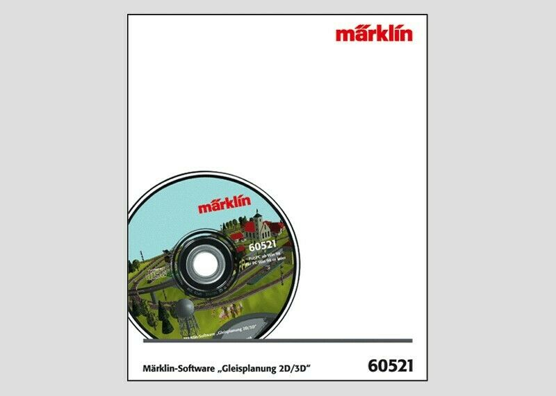 Märklin 60521 gleisplanungs-software 2d/3d versione 7.0