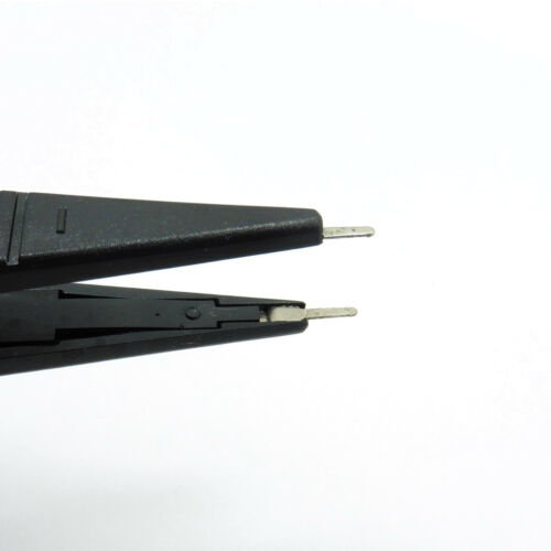 SMD Test Lead Hook Probe Clips Cable Tweezers SMT