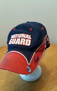 Image is loading NASCAR-Roush-Racing-National-Guard-Cap-Perhaps-Signed- bcac8889d9b5