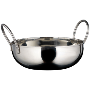 28-Ounce Kady Bowl with Welded Handles Winco KDB-6 Stainless Steel