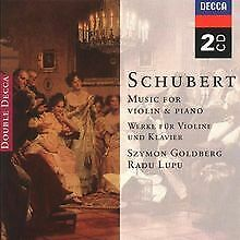 Werke für Violine und Klavier von Szymon Goldberg | CD | Zustand sehr gut