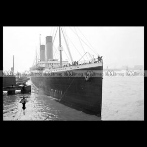 #php.00015 Photo Ss Oceanic White Star Line 1910 New York Steamship Paquebot 9tfpuu65-07220009-696469915