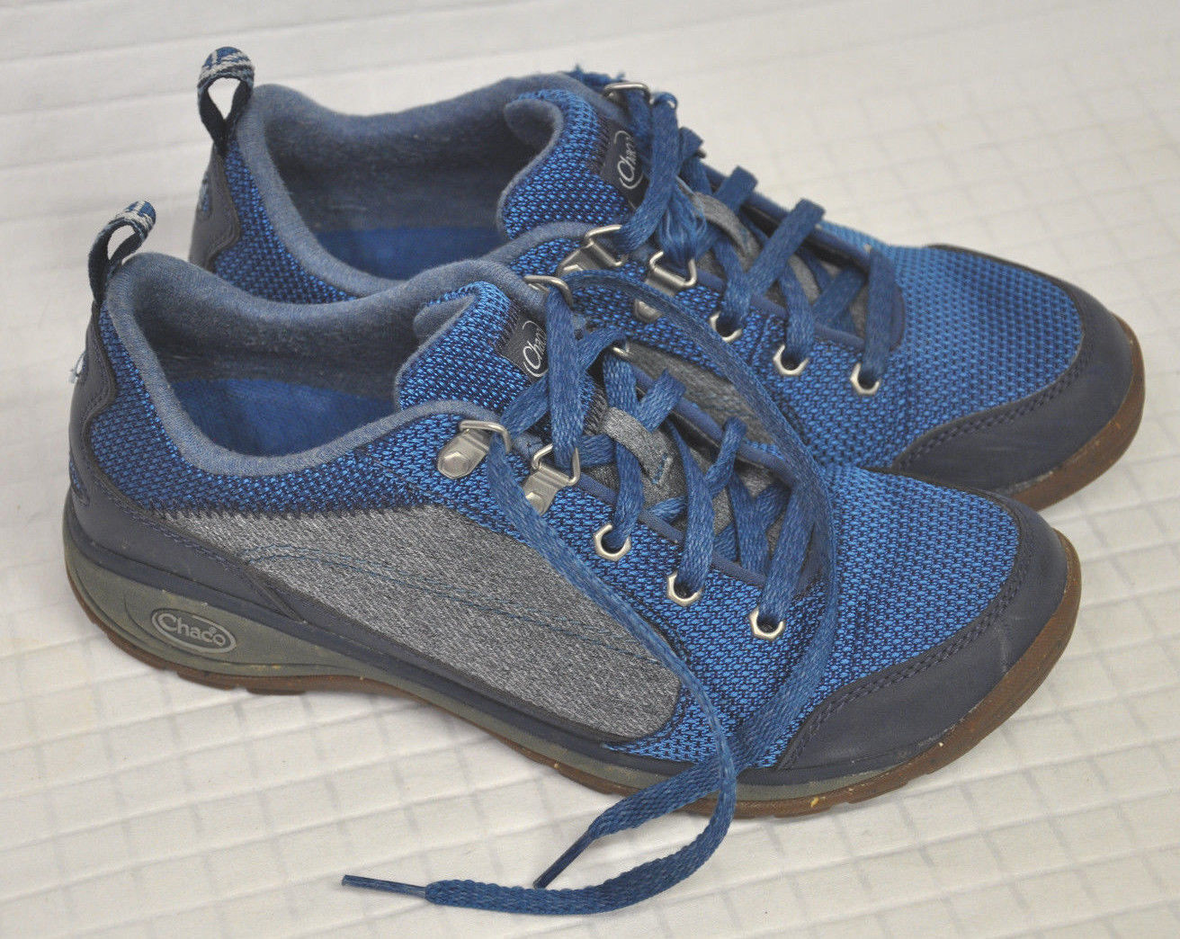 CHACO Kanarra INDIGO bluee CredVER shoes SNEAKER Women's Sz 7.5 STREET Hiking