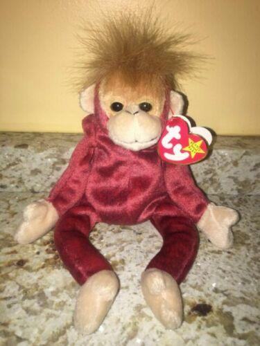 Details about  /TY McDonald/'s Teenie Beanie #12 SCHWEETHEART the Orangutan New in Bag 2000