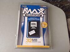 MEMORY 32Mb Memory Card Blue Label Playstation 2 Mosc Sigillata