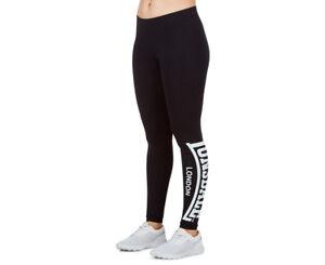 Lonsdale-Women-039-s-Essentials-Able-Leggings-Black