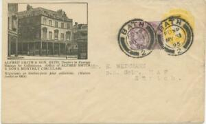 GB-ALFRED-SMITH-amp-Co-superb-QV-advertising-postal-stationery-env-1-1-2d-uprated