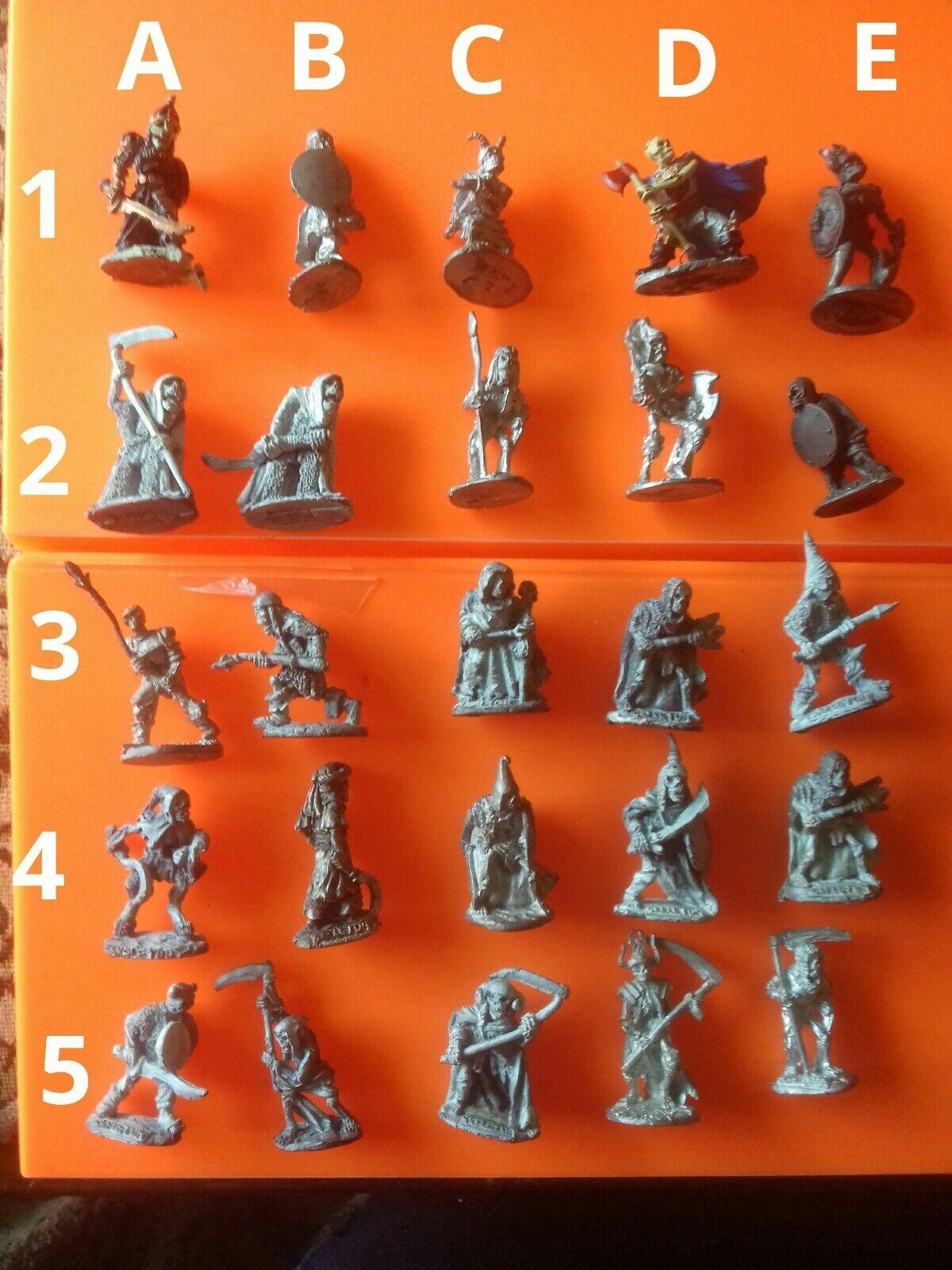 25x C17 skeleton warriors undead undead undead pre-slotta citadel GW games workshop skeletons 0364aa