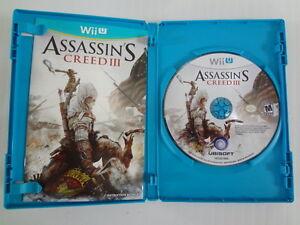 Assassin's Creed III Nintendo Wii U