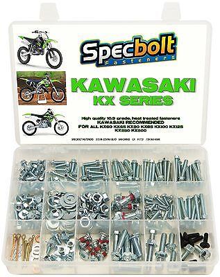120pc Bolt Kit Suzuki RM 60 65 80 85 125 250 plastic engine frame fender 370 400
