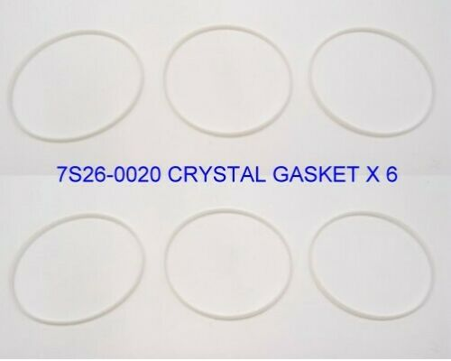 7S26-0020 SKX007 7S26-0029 SKX175 CRYSTAL GASKETS X 6 A//M Good Substitute