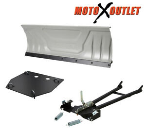 Snow-Plow-Yamaha-Grizzly-550-660-700-Kodiak-Atv-Kit-60-034-Inch-Blade-Package