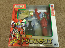 Beast Wars Tripledacus X-3 boxed complete Takara transformers neo BW japanese