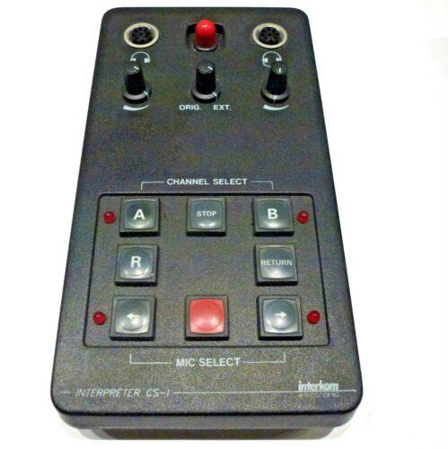 interkom electronic Interpreter CS-I
