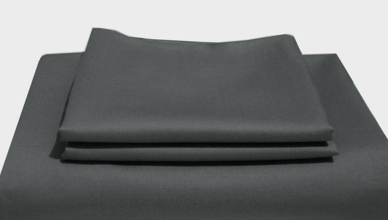 600TC Egyptian Cotton DUVET COVER Sateen Solid Charcoal