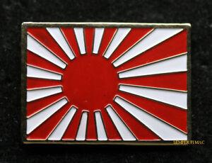 RISING-SUN-FLAG-IMPERIAL-JAPANESE-JAPAN-LAPEL-HAT-PIN-UP-ARMY-NAVY-Kyokujitsu-ki
