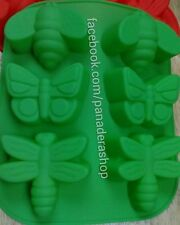 Big Insects Bugs Silicon Rubber Soap Chocolate Cake Jelly Mold Molder Bakeware