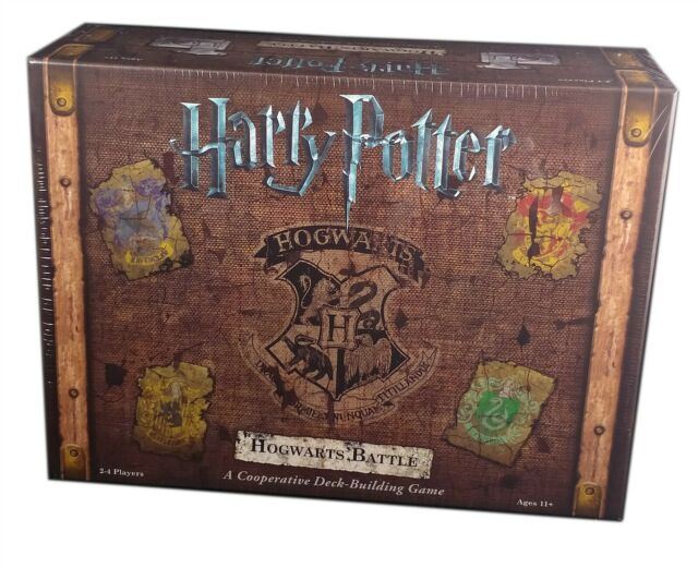 Usaopoly, Harry Potter Hogwarts Battle Deck-Building Game, New and Sealed