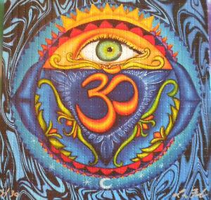 Third Eye & Ohms Lori Felix perforated sheet BLOTTER ART ...