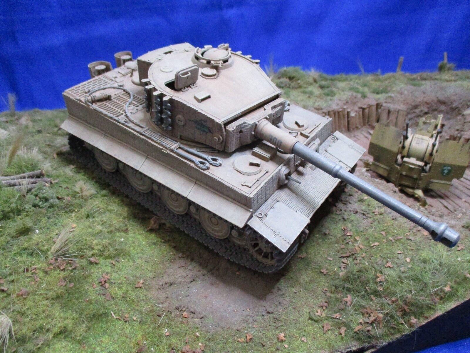 AF009 TAMIYA 1 35 Tigre 1 Panzer Kampfwagen VI Sd Kfz181 Ausfuhrung MONTE WW2
