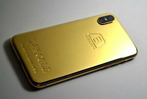 24K-Gold-Plated-customization-top-quality-over-iPhone-xs-64gb-super-luxury