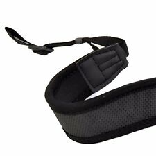 Black Anti-Slip DSLR Camera Neoprene Neck/Shoulder Strap for Canon, Nikon,