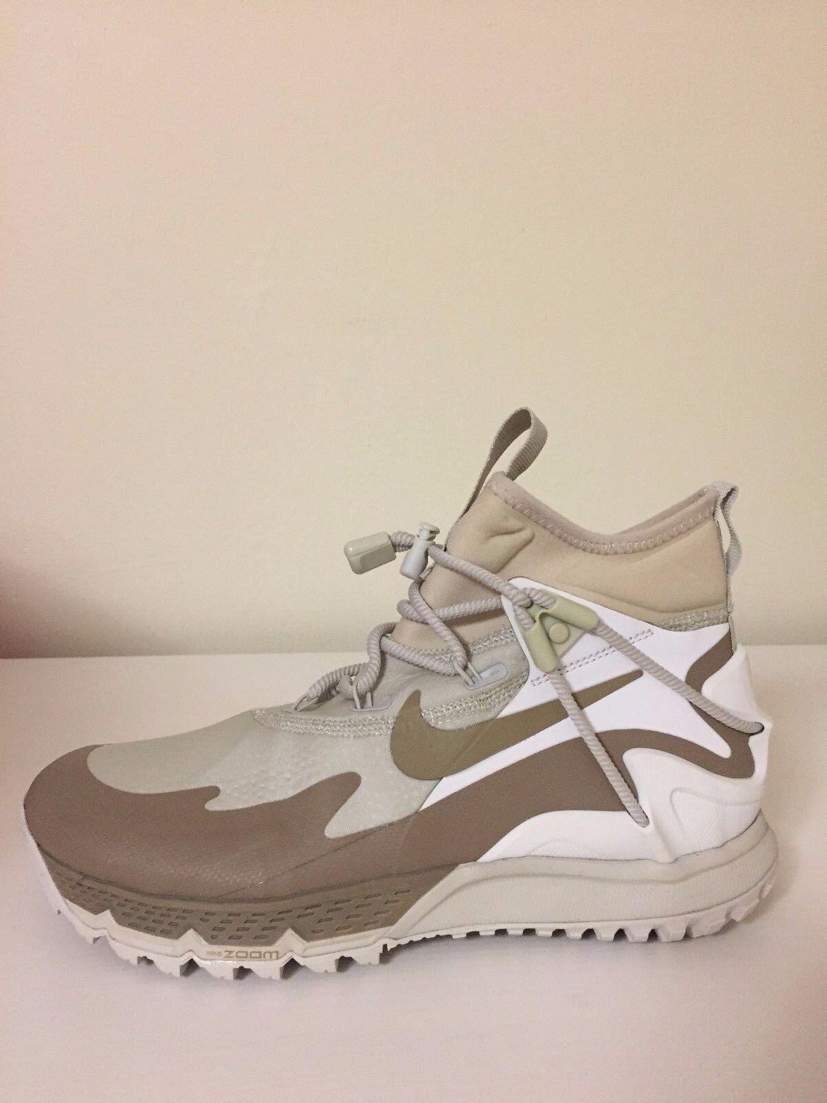 NIKE ZOOM TERRA SERTIG BOOT Women's SZ 8  916812-002 Beige/White/Dirt White