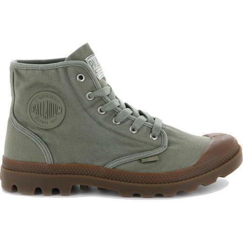 Palladium Pampa Hi Mens Military Canvas Combat Ankle Chukka Stiefel Größe 8-11