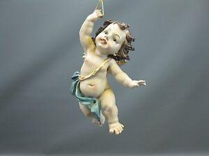 Schwebeengel  Engel Putto 15 cm Deko Figur Engel Weihnachtsfigur Weihnachten