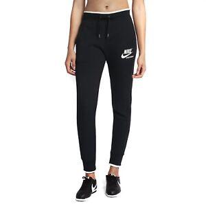 857094 Molleton Pantalon 010 Femme Mod Noir En Pantalon Nike I61BXX