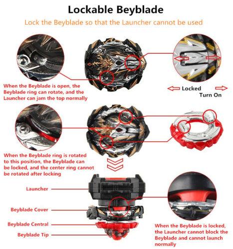 lanceur B-153 Prime Apocalypse Beyblade Burst Starter Rise GT Gatinko Beyblade