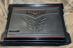 Kicker-ZX300-1-Car-Audio-300-Watts-RMS-Mono-Amplifier-2-Ohm-Amp-tested-working