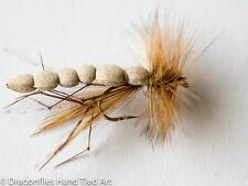 12 Schiuma Body Daddy Long Legs Dry Fly in Taglia 10,12,14,16 da Libellule
