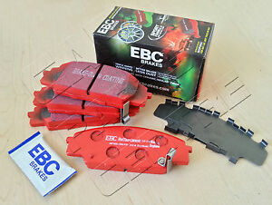 FOR-HONDA-CIVIC-TYPE-R-2-0-EP3-FRONT-EBC-RED-STUFF-BRAKE-PADS-MADE-IN-ENGLAND
