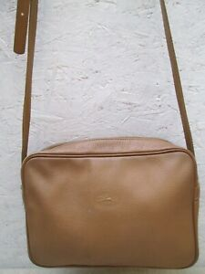 Détails sur Authentique sac à main LONGCHAMP vintage cuir bag