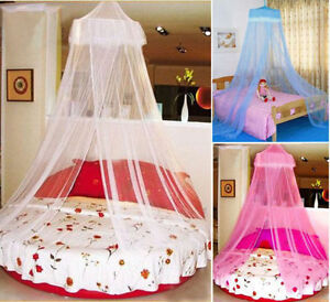 Elegant-Lace-Bed-Canopy-Netting-Curtain-Fly-Midges-Insect-Cot-Mosquito-Net