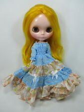 Blythe Outfit Handcrafted long sleeve dress basaak doll # 790-74