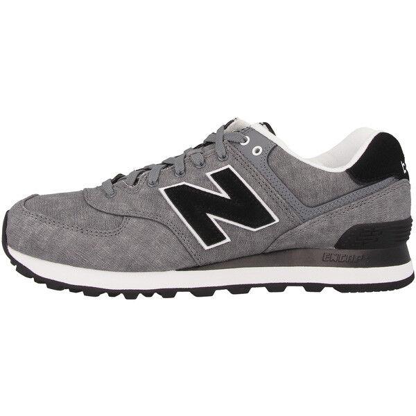 New Balance WL 574 SWC Damens Schuhe gunmetal schwarz WL574SWC Damen Damen WL574SWC Sneaker 373 4e88e7