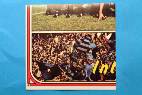 PANINI CALCIATORI 1974//75 156 155 DOPPIA INTER SQUADRA NEW EDICOLA