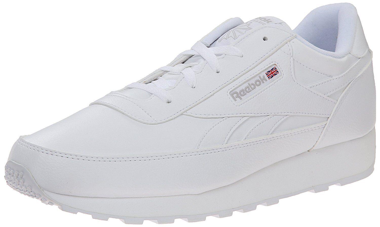 Reebok Men's Classic Renaissance Athletic shoes, us-White Steel, 11.5 M US