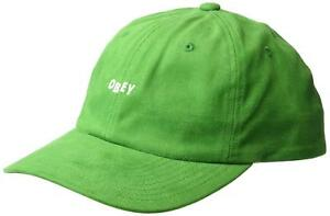 Obey Men s Cutty 6 Panel Snapback Hat Cap - Green 889582689007  6eb2a5a549e1