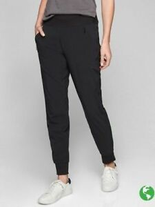 Pant Lined Athleta Small Soho 98 4 Black Sz 907899 Jogger R6xpSq