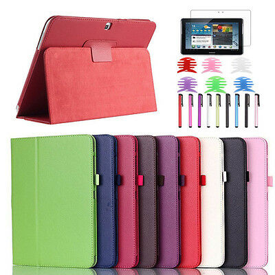 Leather Case Cover For Samsung Galaxy Tab 4 10.1Inch SM-T530 Tablet Elegant