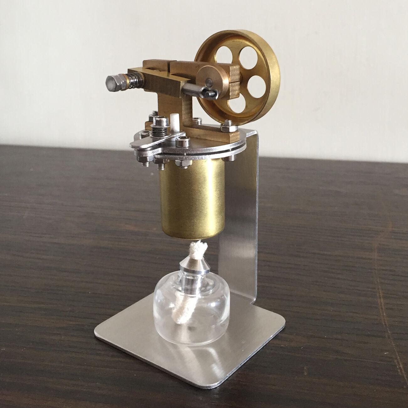 Mini Steam Engine w  Boiler Horizontal Steam Engine Model Complete Set w  Boiler
