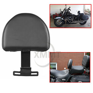 Drivers Back Rest W Stand For Harley Davidson Fatboy Heritage Softail Classic Ebay