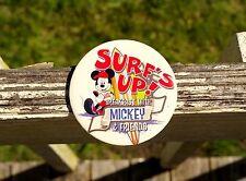 "Surf's Up! Breakfast With Mickey & Friends 3"" Walt Disney Pin Pinback Button"